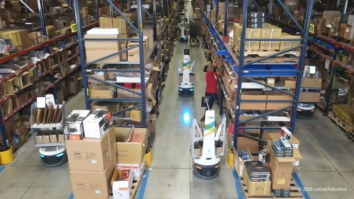 ISN improves productivity by 266% with AMR solution from Körber and Locus Robotics