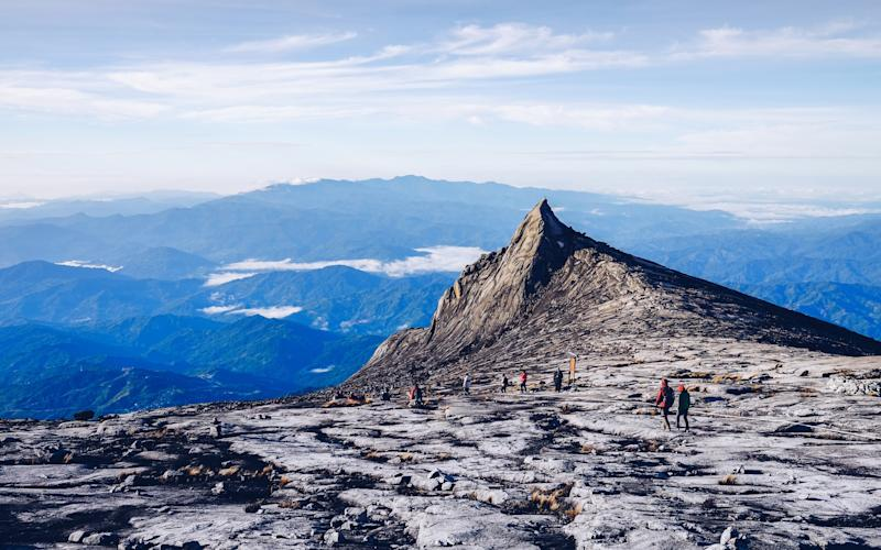 South-east Asia's highest mountain, Mount Kinabalu - COPYRIGHT 2015. ALL RIGHTS RESERVED (COPYRIGHT 2015. ALL RIGHTS RESERVED (Photographer) - [None]