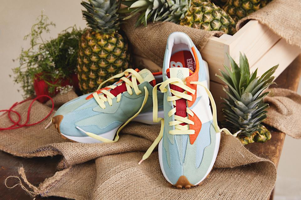 """The Todd Snyder x New Balance 327 """"Farmers Market"""" collab. - Credit: Courtesy of New Balance"""