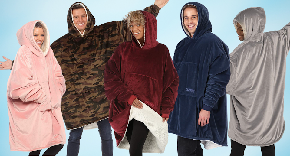 This wearable blanket has more than 26,000 reviews — and it's on sale (Photos via Amazon)