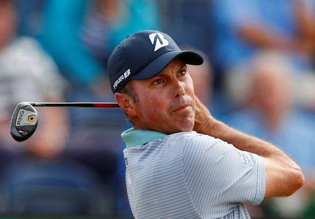 FILE PHOTO: Golf - The 147th Open Championship - Carnoustie, Britain - July 21, 2018 Matt Kuchar of the U.S. in action during the third round REUTERS/Jason Cairnduff