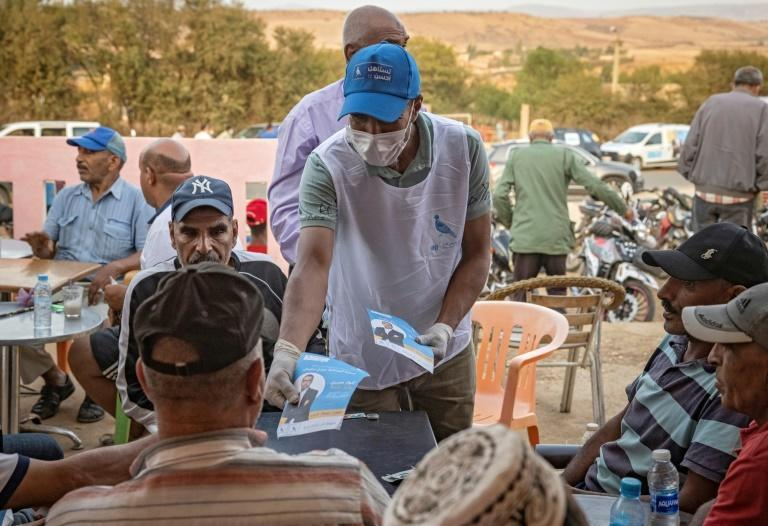 Morocco's electorate of almost 18 million are to vote for 395 deputies and more than 31,000 local and regional representatives (AFP/FADEL SENNA)