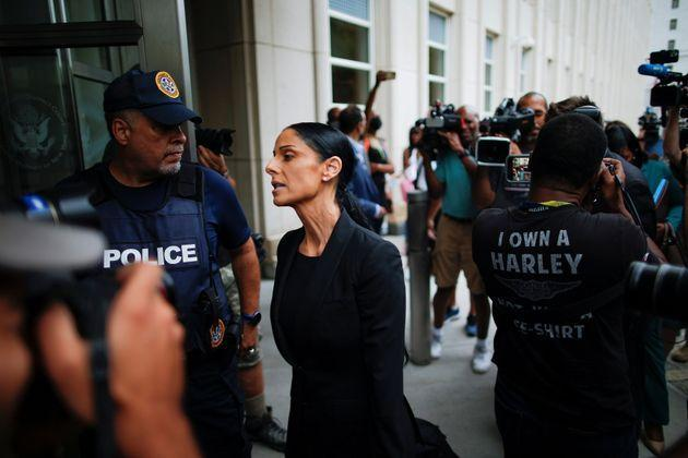 R. Kelly's defense attorney Nicole Blank Becker arrives at the Brooklyn federal courthouse in New York on Aug. 18, 2021. (Photo: Eduardo Munoz via Reuters)