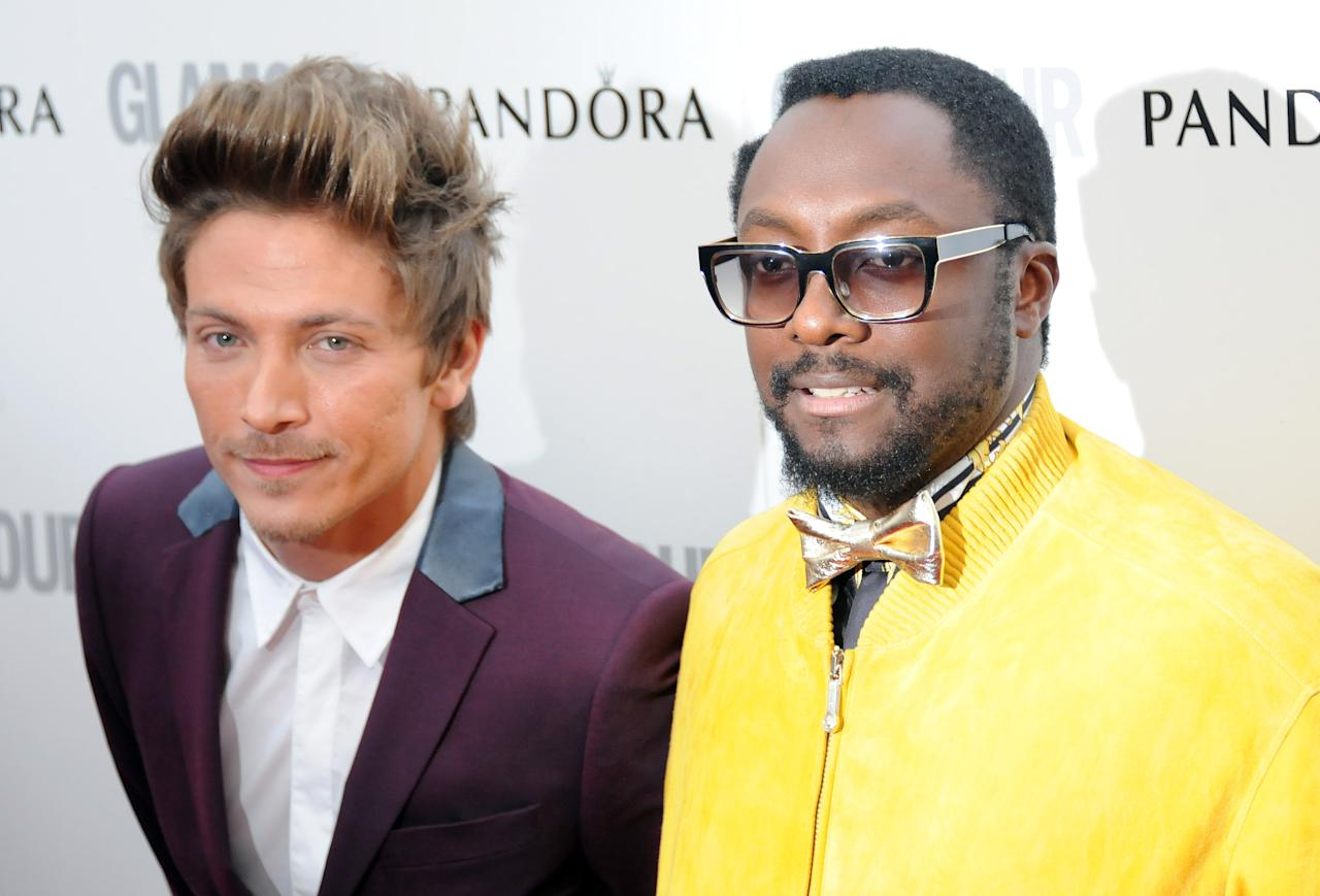 LONDON, UNITED KINGDOM - MAY 29: Tyler James and Will.I.Am attend Glamour Women of the Year Awards 2012 at Berkeley Square Gardens on May 29, 2012 in London, England. (Photo by Stuart Wilson/Getty Images)