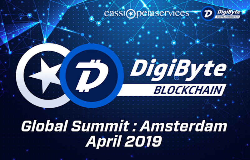 Vertbase onboard with DigiByte Global Summit