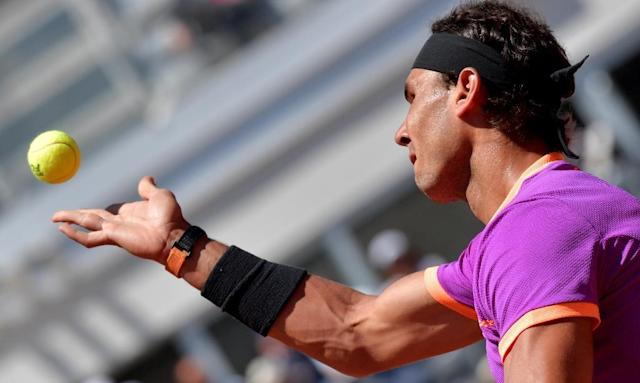 Rafael Nadal swept Novak Djokovic aside in the semi-finals of the Madrid Masters last week before going on to secure the title (AFP Photo/TIZIANA FABI)