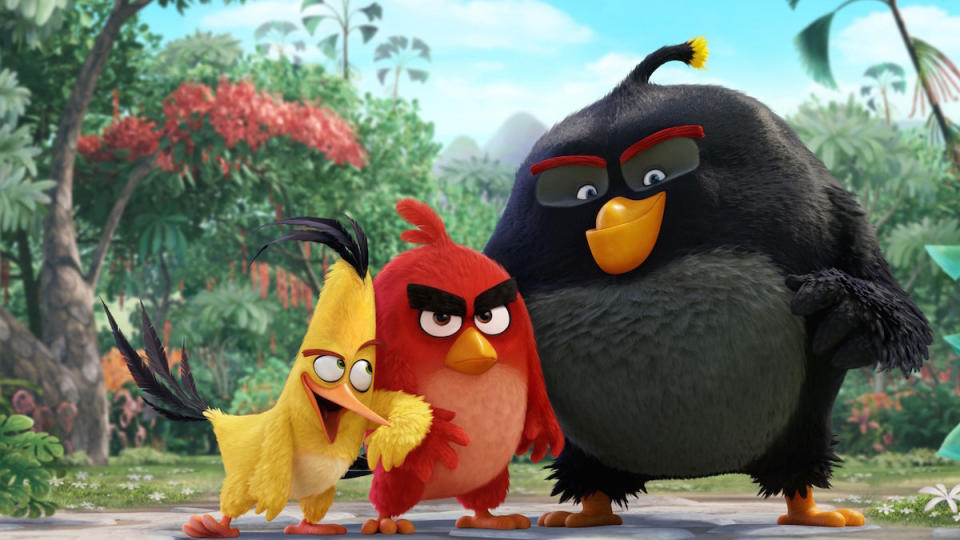 'The Angry Birds Movie' brought the smartphone game's characters to the big screen. (Sony)
