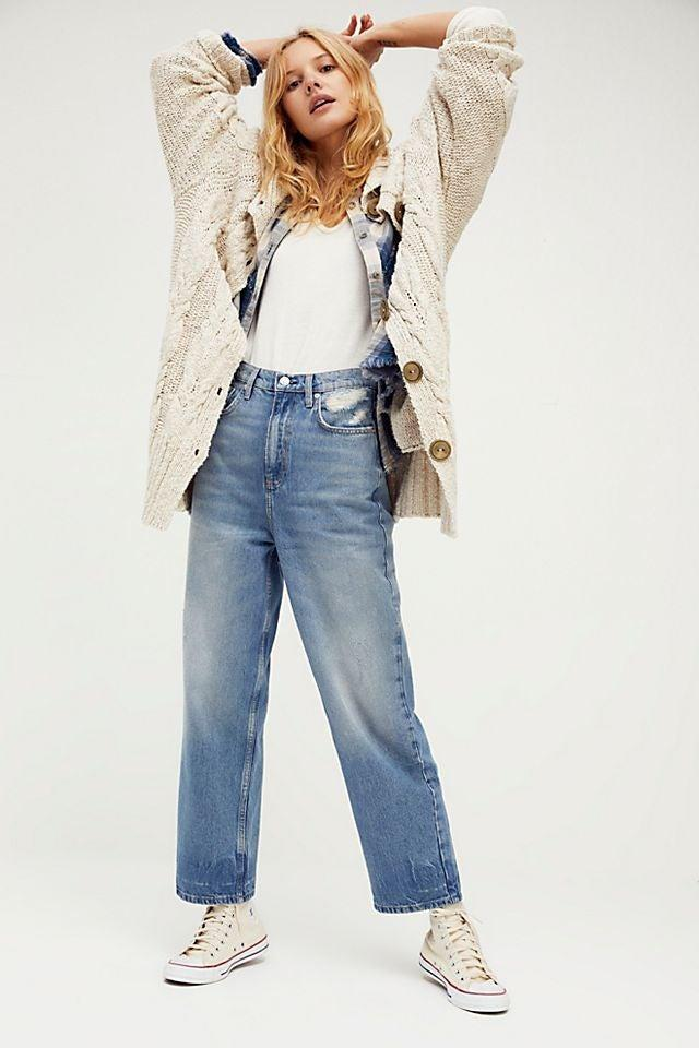"""<br><br><strong>We The Free</strong> We The Free Dad Jeans, $, available at <a href=""""https://go.skimresources.com/?id=30283X879131&url=https%3A%2F%2Fwww.freepeople.com%2Fshop%2Fwe-the-free-dad-jeans%2F%3Fcategory%3DSEARCHRESULTS%26color%3D041%26type%3DREGULAR%26quantity%3D1"""" rel=""""nofollow noopener"""" target=""""_blank"""" data-ylk=""""slk:Free People"""" class=""""link rapid-noclick-resp"""">Free People</a>"""
