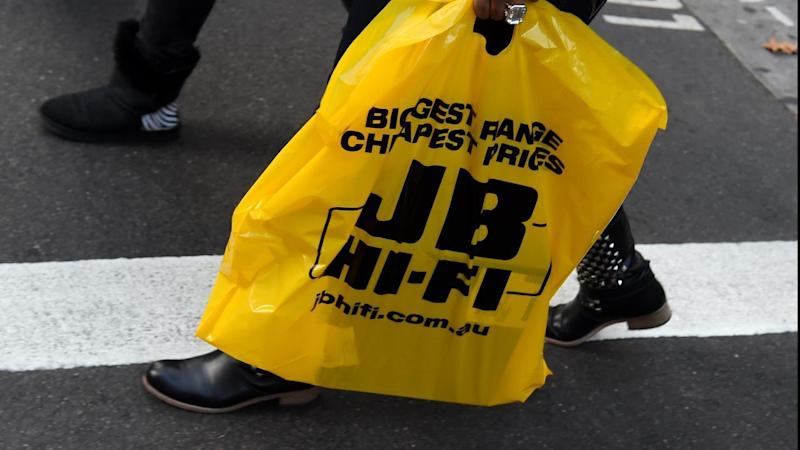 JB Hi-Fi sales and revenue lift