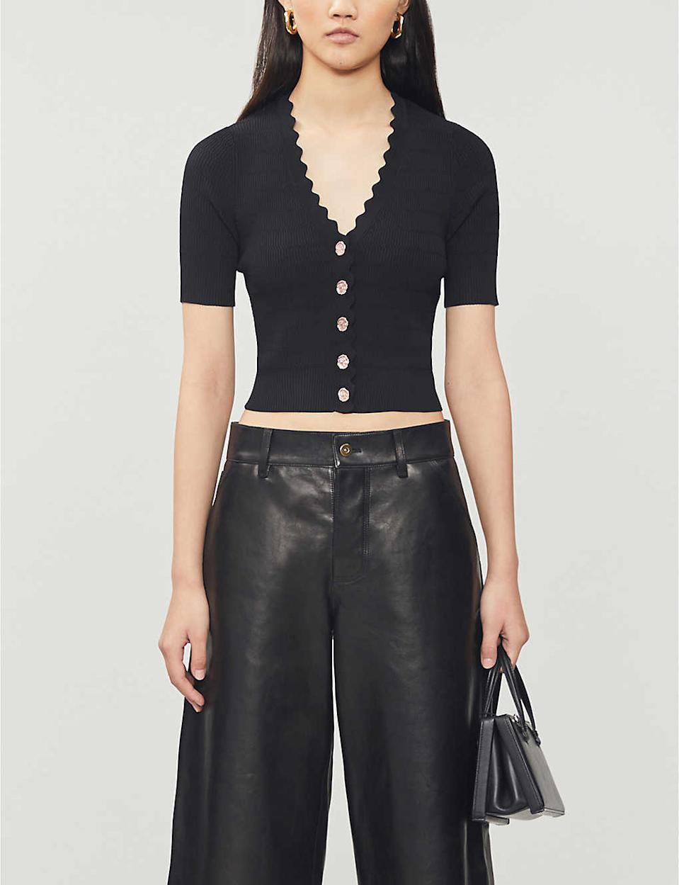 The £155 piece also comes in black (Selfridges)