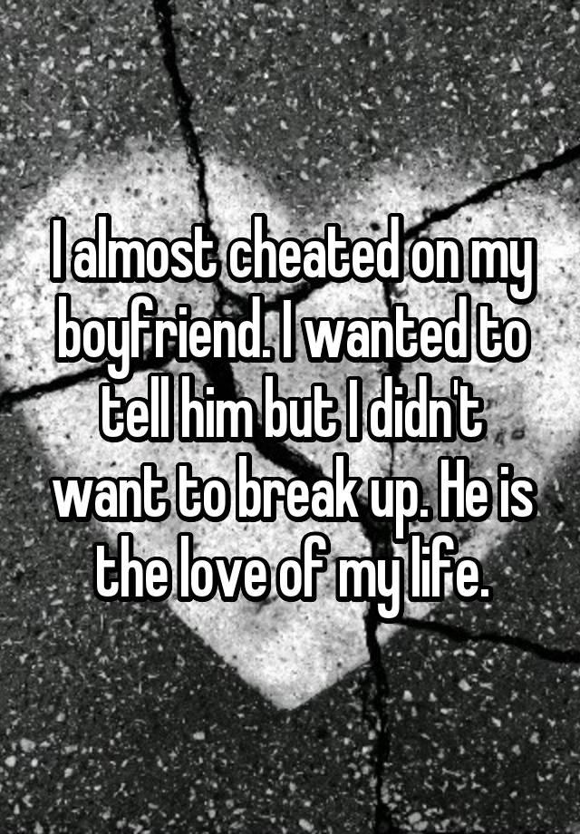19 people confess why they almost cheated on their partners