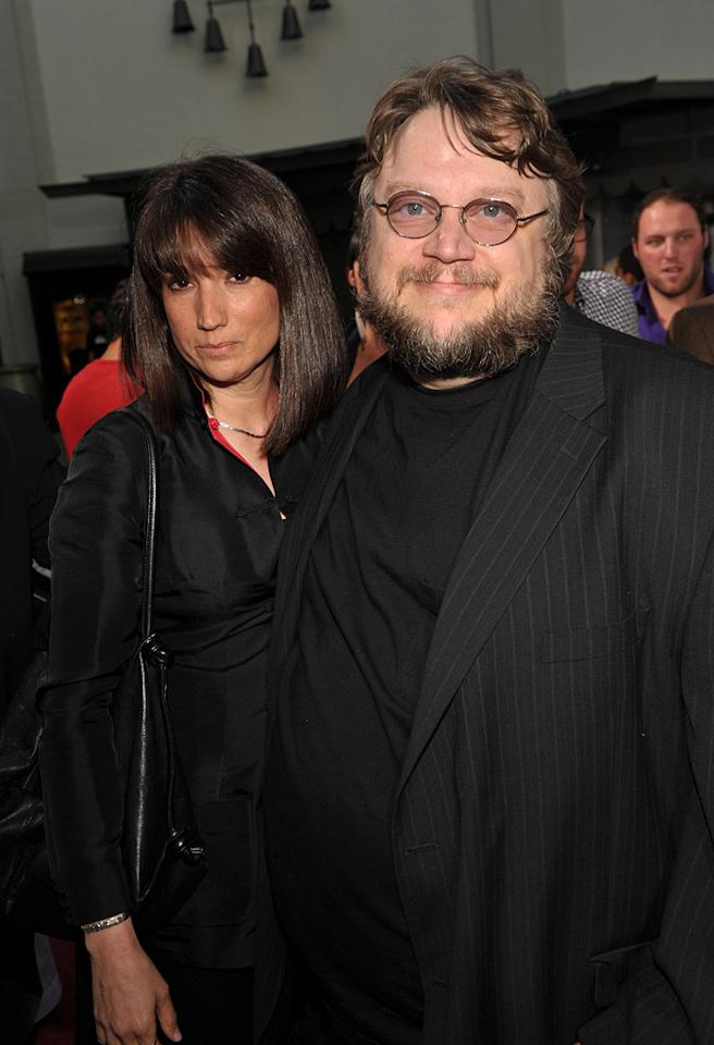 "<a href=""http://movies.yahoo.com/movie/contributor/1800026601"">Guillermo del Toro</a> and guest at the Los Angeles premiere of <a href=""http://movies.yahoo.com/movie/1810070753/info"">Scott Pilgrim vs. the World</a> - 07/27/2010"