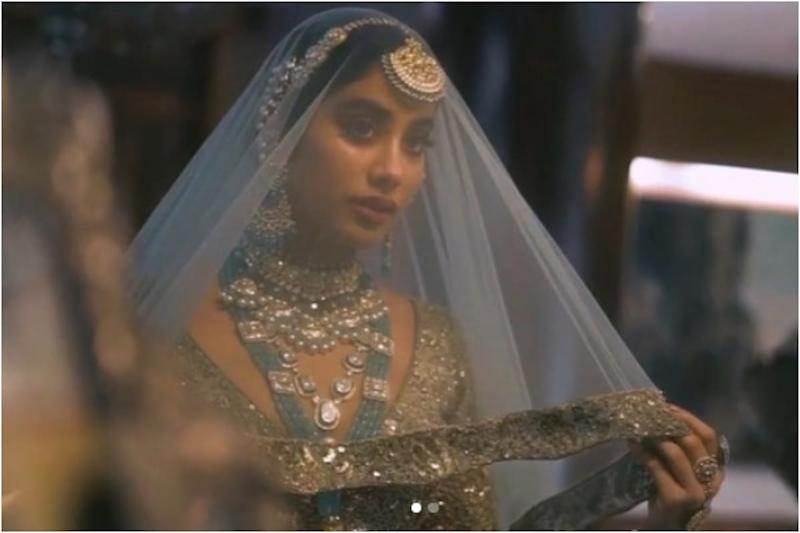 Janhvi Kapoor Can 'Hear the Shehnai' as She Turns into Mughal Era Bride for Manish Malhotra's New Collection