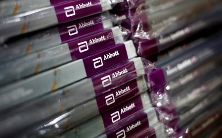 Abbott revenue misses as heart devices eclipse diabetes gains