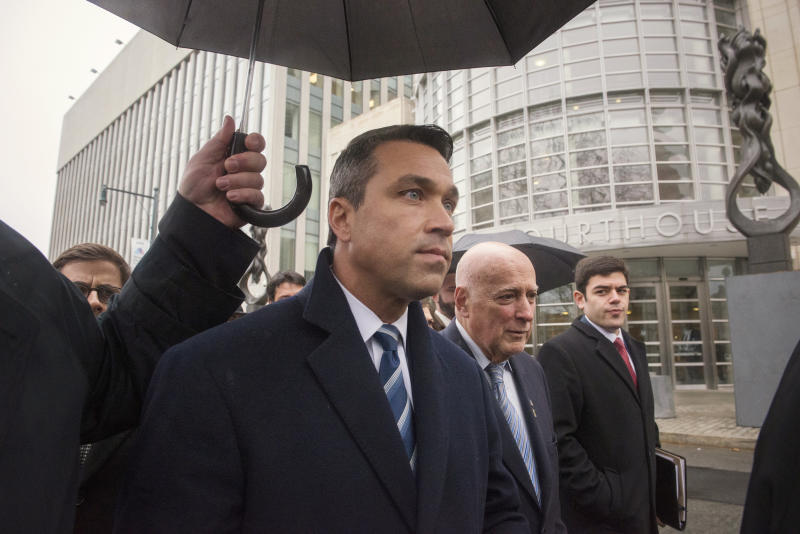 Former Rep. Michael Grimm is trying to reclaim his seat after pleading guilty to felony tax evasion in 2014. (Stephanie Keith / Reuters)