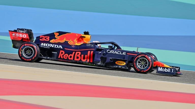 Red Bull's Max Verstappen topped practice times in Bahrain in Friday's first session