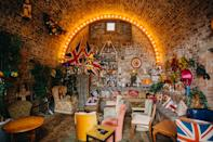 """<p>For those of you on the hunt for a more quirky atmosphere, make sure to check out Little Nan's in Deptford for a two-hour boozy bottomless brunch. The hipster haunt will be live-streaming the royal wedding from the Pub Room and guests can enjoy themed cocktails such as the Prince Harry Teapot or the Queen Pat Butcher Cocktail. Tickets cost £45 and you'll receive a complimentary royal mug. See you there. <br><br><br>To book, check out the Facebook <a rel=""""nofollow noopener"""" href=""""https://www.facebook.com/events/466119837156620/"""" target=""""_blank"""" data-ylk=""""slk:page"""" class=""""link rapid-noclick-resp"""">page</a>. <em>[Photo: Little Nan's]</em> </p>"""