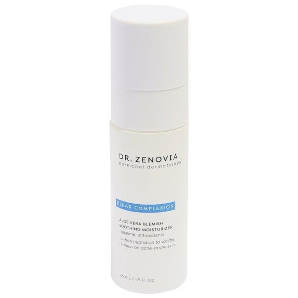 <p>This new <span>Dr. Zenovia Skincare Aloe Vera Blemish Soothing Moisturizer</span> ($38) already earns high marks from other Sephora shoppers we imagine thanks, in part, to the medical-grade aloe vera packed inside. This nutritive ingredient is rich in skin-soothing vitamins and antioxidants that take on breakouts, redness, and other irritation.</p>