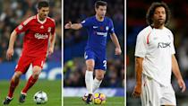 <p>Xabi Alonso, Cesar Azpilicueta and Ivan Campo – do they make our list</p>