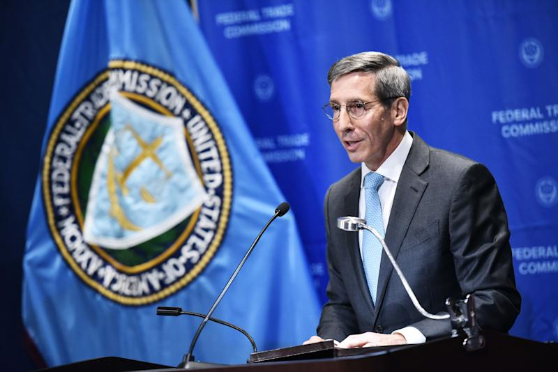 Joe Simon is the Chairman of the Federal Trade Commission. (MANDEL NGAN/AFP via Getty Images)