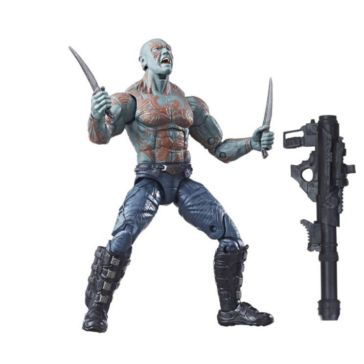 While he only has one head, the new Drax is well-armed. (Courtesy of Hasbro)