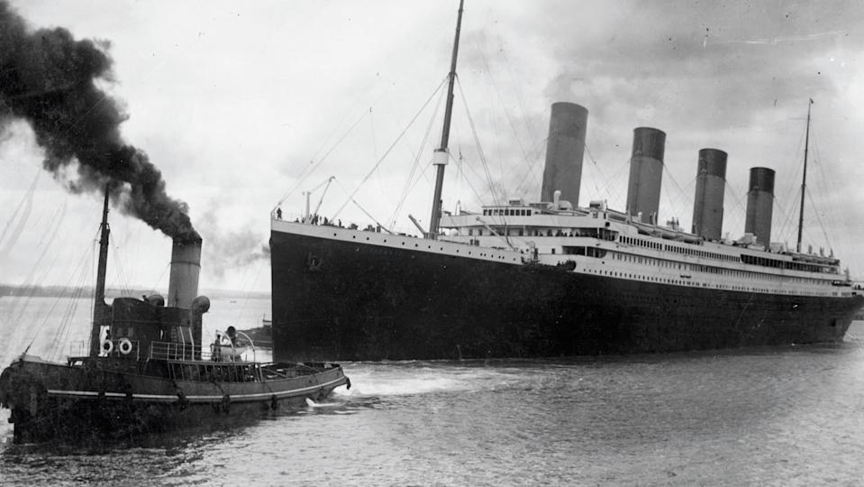 Le Titanic, en avril 1912 - SOUTHAMPTON CITY COUNCIL - AFP