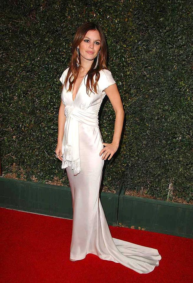 "Former ""O.C."" hottie Rachel Bilson has certainly added some glam to her fashion repertoire since leaving the sudsy FOX soap last year. Steve Granitz/<a href=""http://www.wireimage.com"" target=""new"">WireImage.com</a> - January 12, 2008"