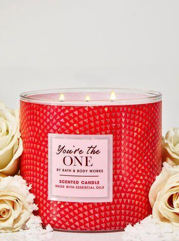 "<p><strong>Bath & Body Works</strong></p><p>bathandbodyworks.com</p><p><strong>$24.50</strong></p><p><a href=""https://www.bathandbodyworks.com/p/youre-the-one-3-wick-candle-026182137.html"" rel=""nofollow noopener"" target=""_blank"" data-ylk=""slk:Shop Now"" class=""link rapid-noclick-resp"">Shop Now</a></p><p>Minus a ton of points for the not-explicitly-seasonal vibes because, again, that's what this ranking is about.</p><p>However, the scent is Bath & Body Works at its purest: slathered all over yourself after before heading to the middle school dance in your finest capri leggings. It made my adult boyfriend kiss me a lot and inexplicably start singing Jesse McCartney's iconique banger ""<a href=""https://www.youtube.com/watch?v=KiDtvTEHHwU&list=PLM-LuXAnVlRU6qhEqRJazOKKucq8gQQp8&index=21&t=0s&app=desktop"" rel=""nofollow noopener"" target=""_blank"" data-ylk=""slk:Body Language"" class=""link rapid-noclick-resp"">Body Language</a>""—save this bb for Valentine's Day. </p>"