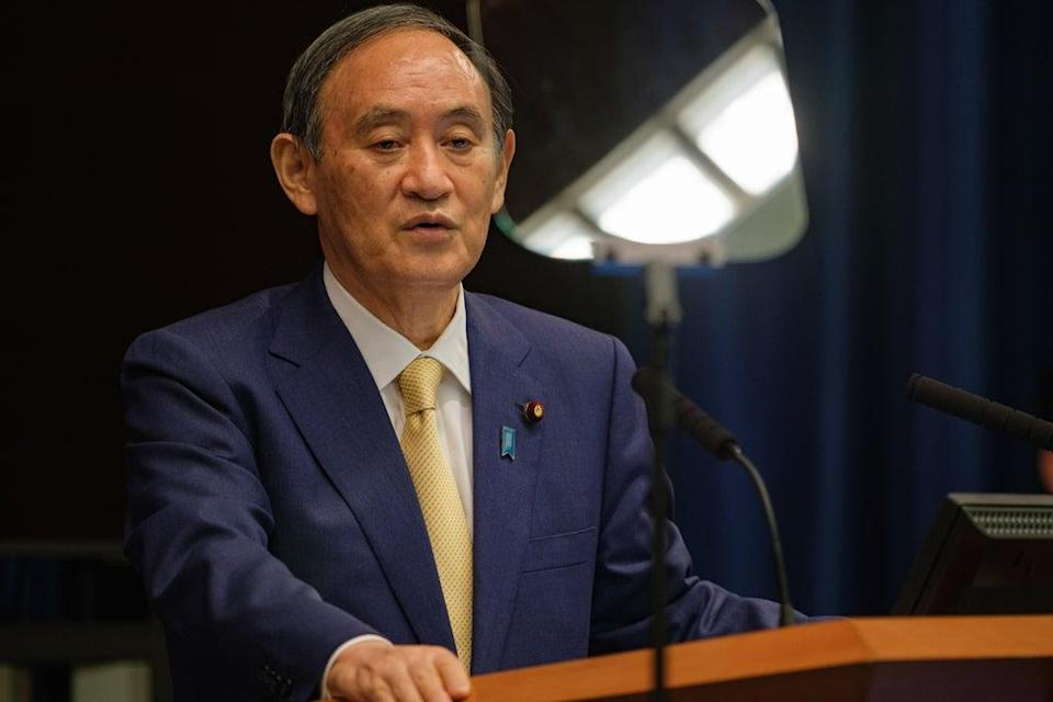 Japan outgoing PM Suga led cooperation with Southeast Asia countries  (Getty Images)