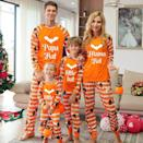 <p>The <span>Eoailr Halloween Family Matching Pajamas</span> ($10-$23) are perfect for getting in the spooky spirit. The pajamas are a two-piece set that comes in one meant for dad, one for mom, and one for your little one.</p>