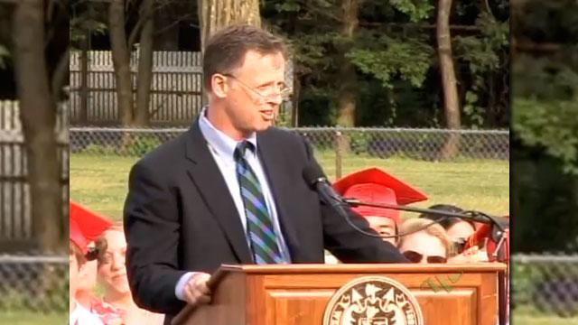 Students, Parents in Boston Suburb Defend Teacher After Controversial Commencement Speech