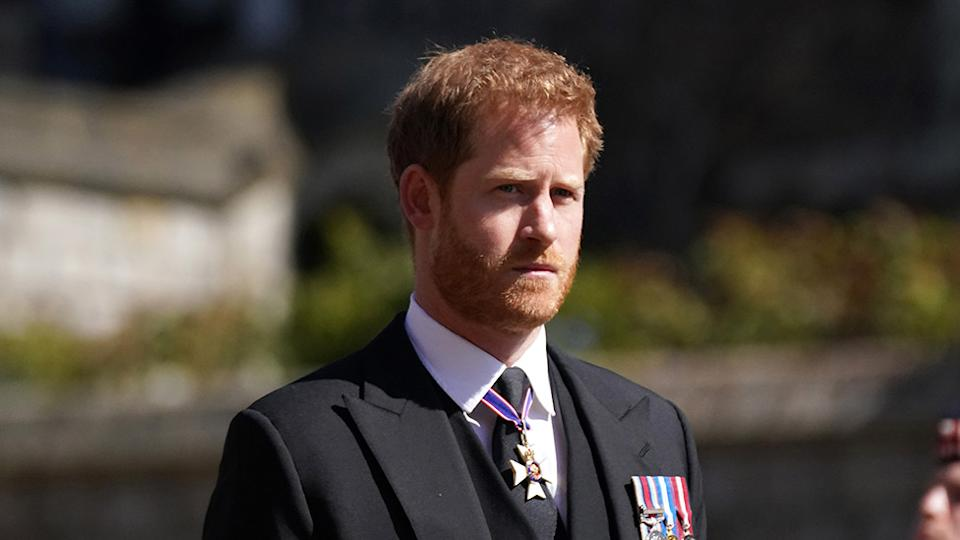 Prince Harry has opened up about 'unresolved traumas' in his new series with Oprah Winfrey. Photo: Getty