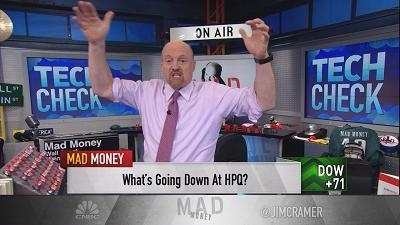 Jim Cramer takes a look at how HP Inc., once part of the Hewlett-Packard empire, has rebounded thanks to innovation and other shrewd moves.