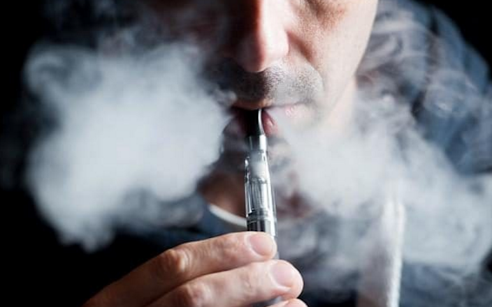 Teens who had tried vaping were more likely to try smoking