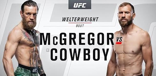 UFC 246 McGregor vs Cowboy recap video