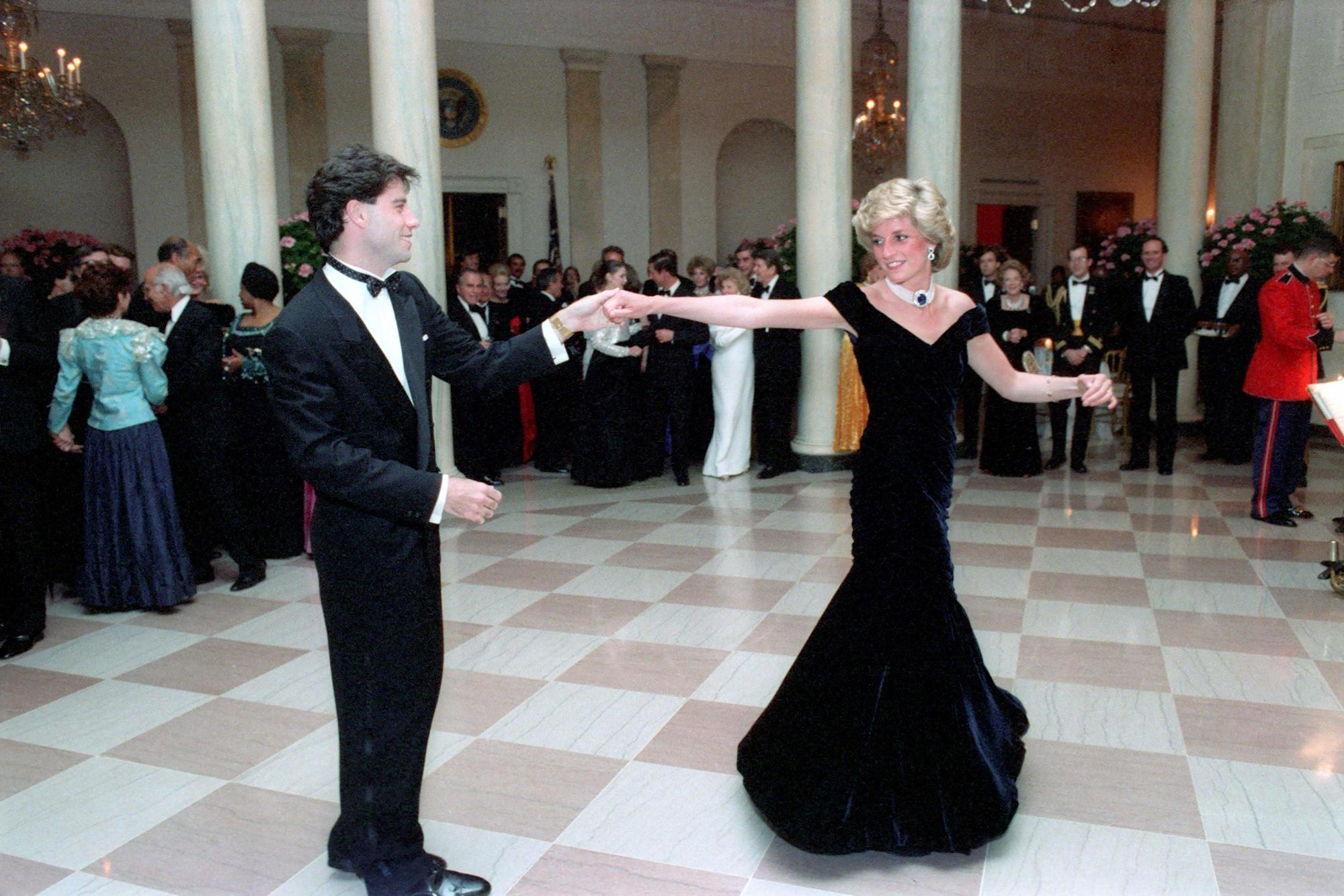 John Travolta says dancing with Princess Diana was 'like a fairytale'