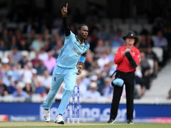 Jofra Archer starred in England's World Cup win (Getty)