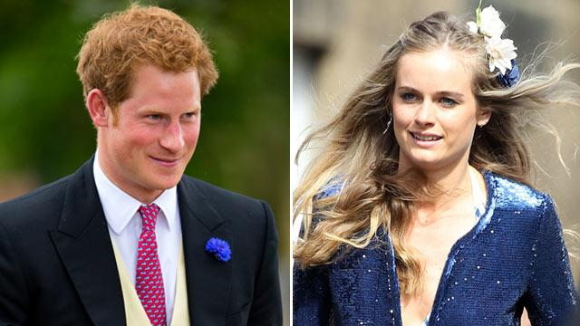 Prince Harry Rocks Out with Cressida Bonas
