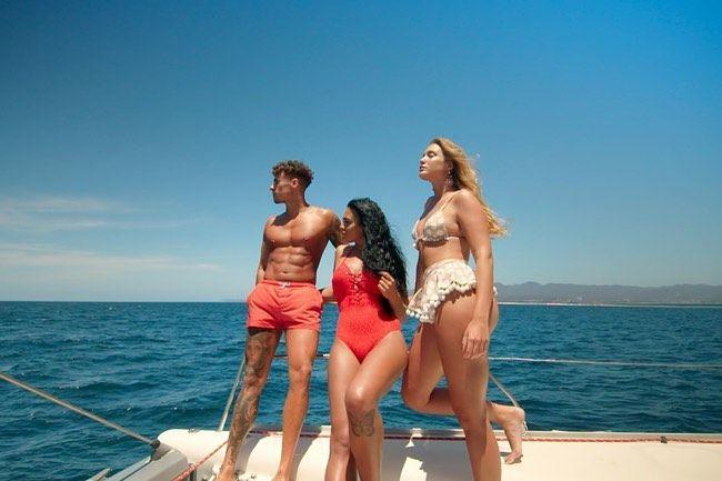 """<p>Like <em>Love Island</em>, the group you start with is not always the one you end with. New hotties come in, including these three that showed up <a href=""""https://www.instagram.com/p/B_iCxBWg44-/"""" rel=""""nofollow noopener"""" target=""""_blank"""" data-ylk=""""slk:on a yacht"""" class=""""link rapid-noclick-resp"""">on a yacht</a>. That is one hell of an entrance.</p>"""