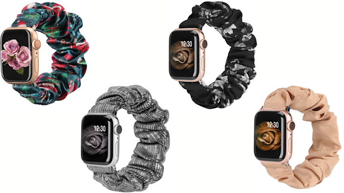 I love scrunchies, so this watch band is my fave!