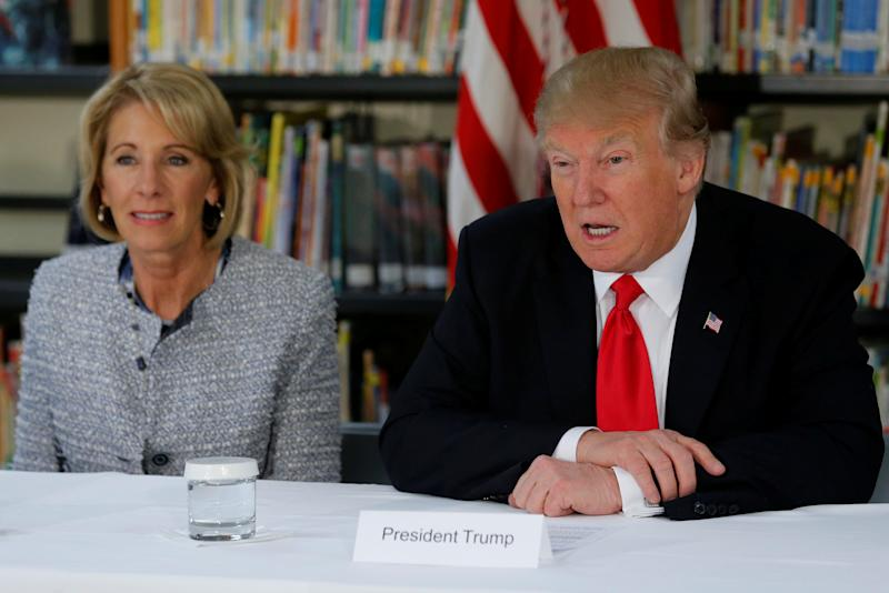 Conflicts Of Devos Donald Trump Betsy >> Congressman To Trump Betsy Devos Is Rich White And Dumber Than A