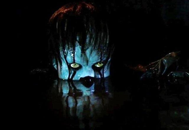 Pennywise surfaces in <em>It</em> (Photo: Warner Bros.)