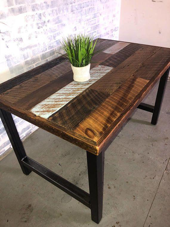 "If you're in the market for some new furniture, <a href=""https://www.etsy.com/shop/FreshRestorations?ref=l2-shopheader-name#about"" target=""_blank"">Fresh Restorations</a> sells reclaimed wood tables made from salvaged barn wood rich with history and character."