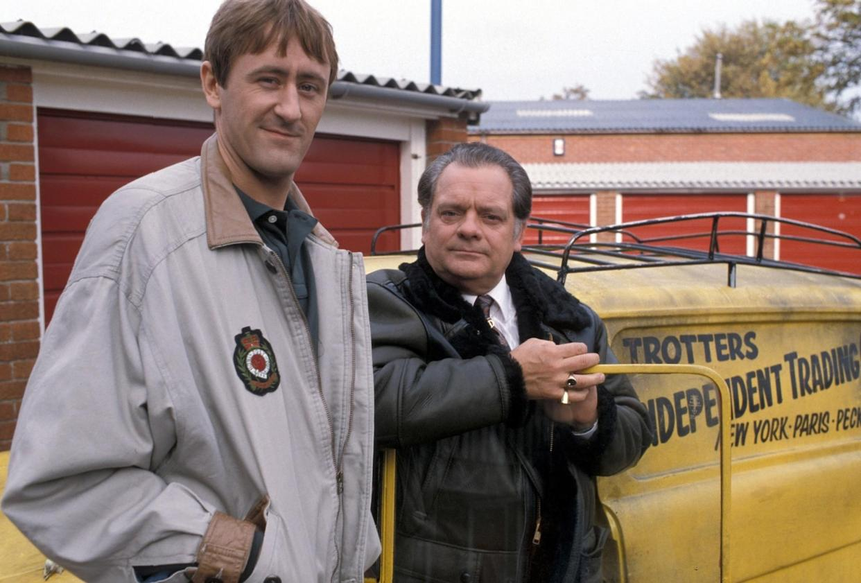 Rodney Trotter (Nicholas Lyndhurst) and Del Boy Trotter (David Jason) in Only Fools and Horses (BBC)
