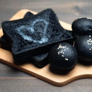 This toast offering really just looks very, very burnt to us. Photo: Instagram