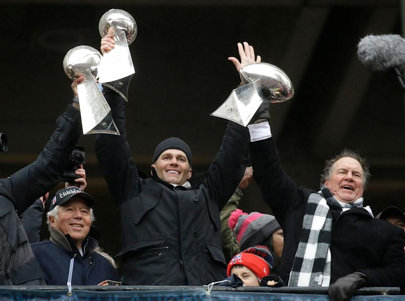 Patriots show sneak peek of Super Bowl ring before Thursday's ceremony