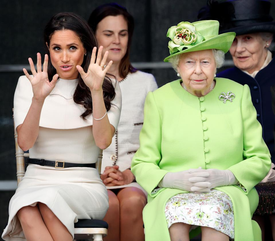 It's being claimed the Duchess of Sussex is causing a stir in Kensington Palace for how she goes by her own rules. Photo: Getty Images