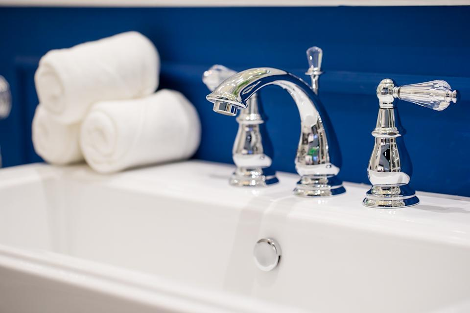 Make this stainless steel spiffy-upper a, um, fixture of your cleaning regimen. (Photo: Getty)