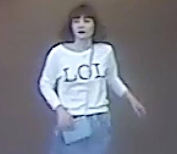 Doan Thi Huong caught on airport CCTV after the murder