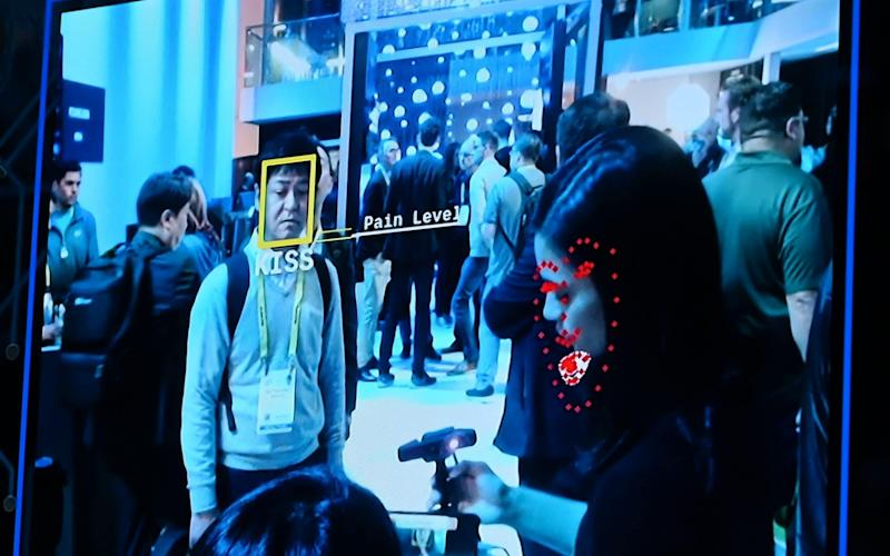 Facial recognition technology - AFP
